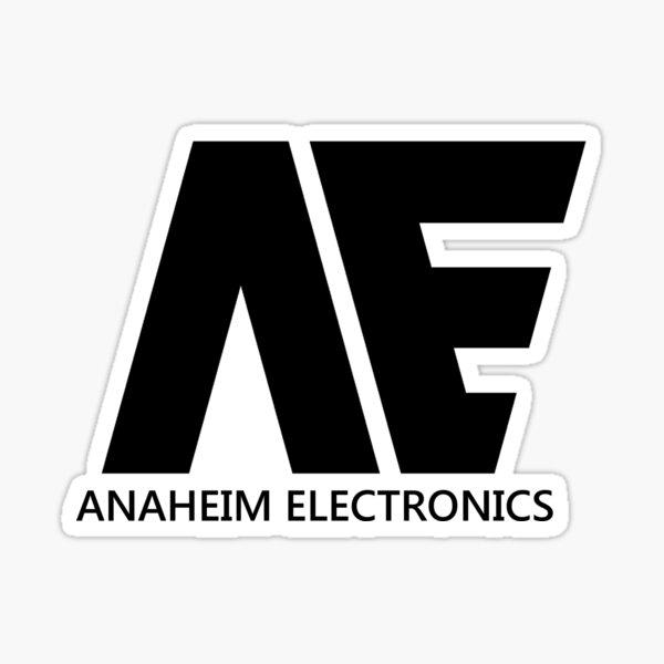 Anaheim Electronics ver 2 Sticker