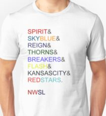The NWSL 2013! T-Shirt