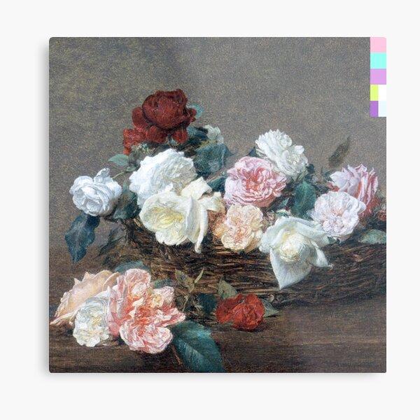 Power Flowers Metal Print