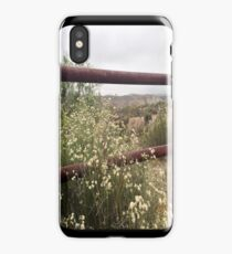 The Rusty Fence iPhone Case