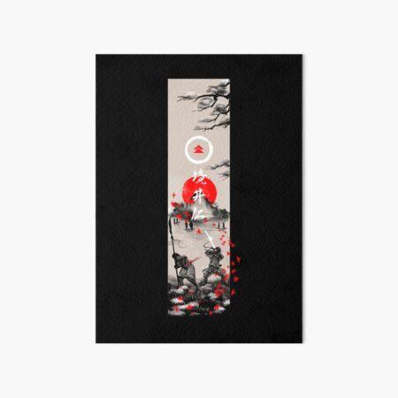 The Ghost Ukiyo-e Art Board Print