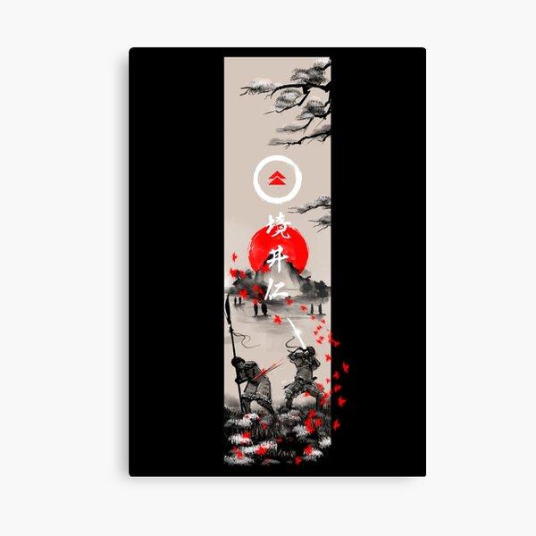 The Ghost Ukiyo-e Canvas Print