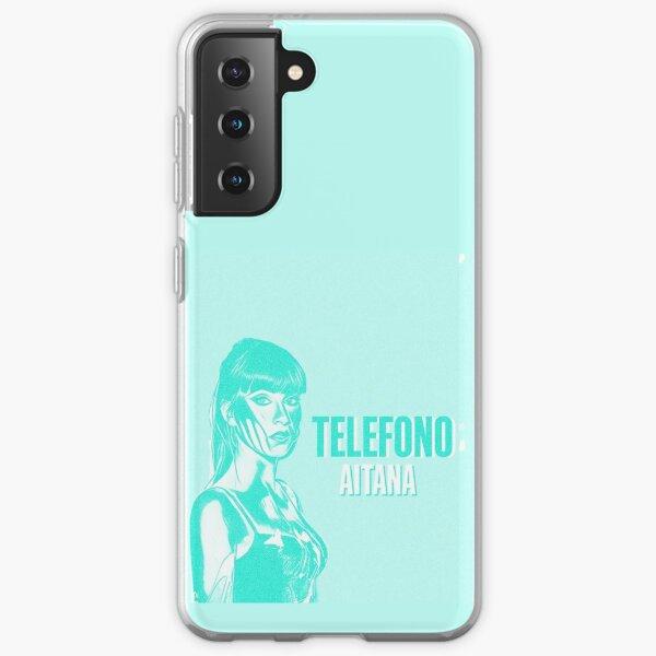 AITANA TELÉFONO Funda blanda para Samsung Galaxy