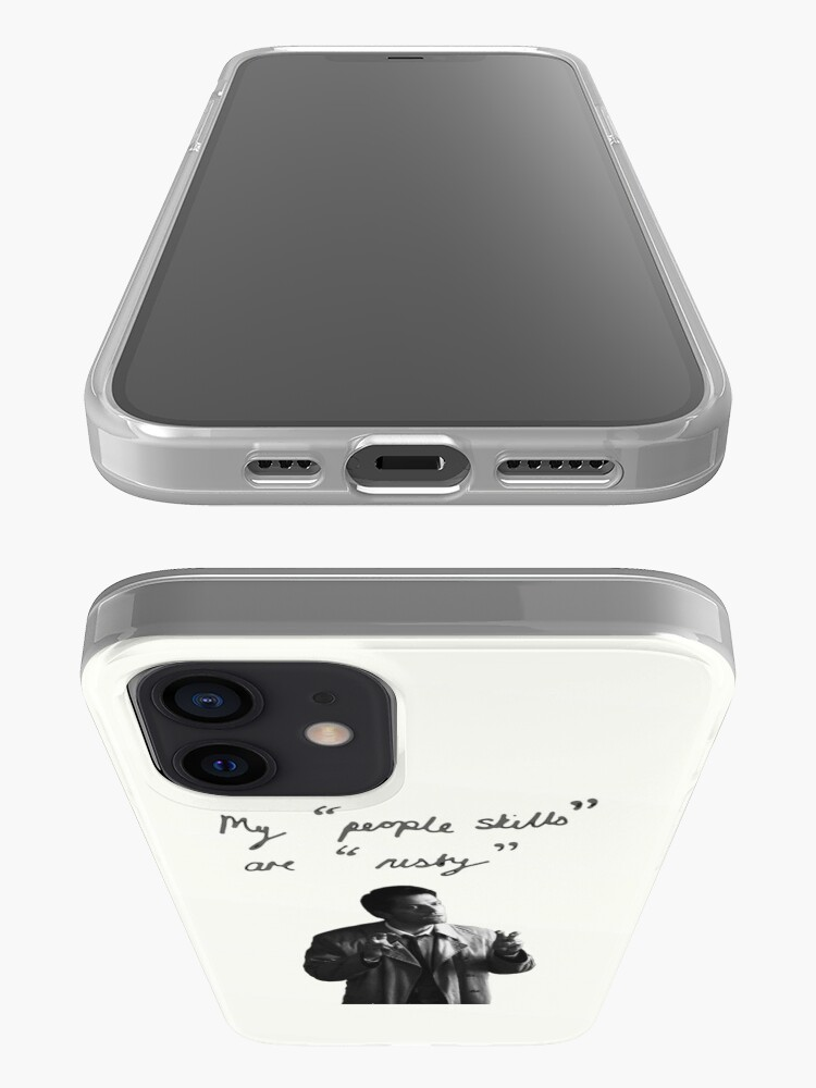 """Alternate view of My """"people skills"""" are """"rusty"""" Ipod iPhone Case & Cover"""