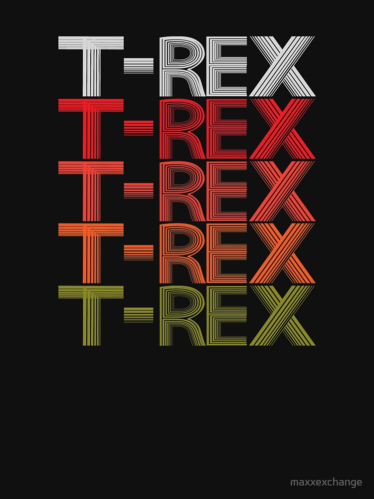 T-REX Tyrannosaur Prehistoric Predator Archeology. by maxxexchange