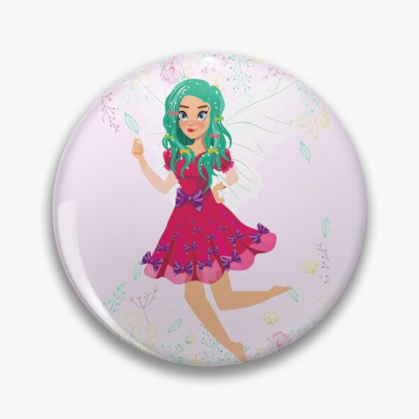 Ruby The Ribbon Fairy At Play™ Pin