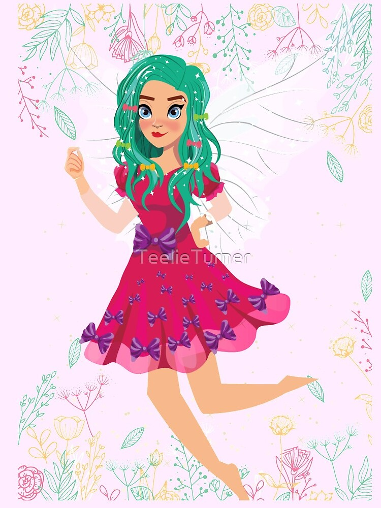 Ruby The Ribbon Fairy At Play™ by TeelieTurner