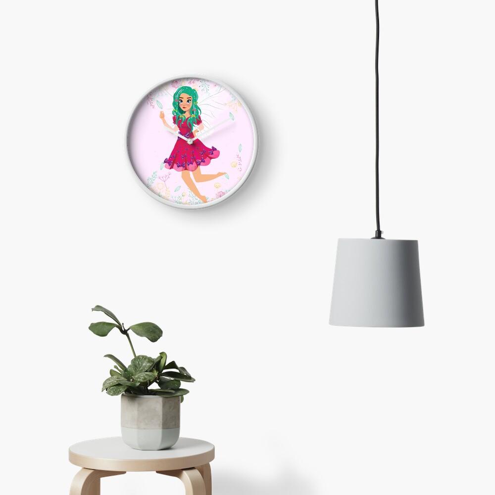 Ruby The Ribbon Fairy At Play™ Clock