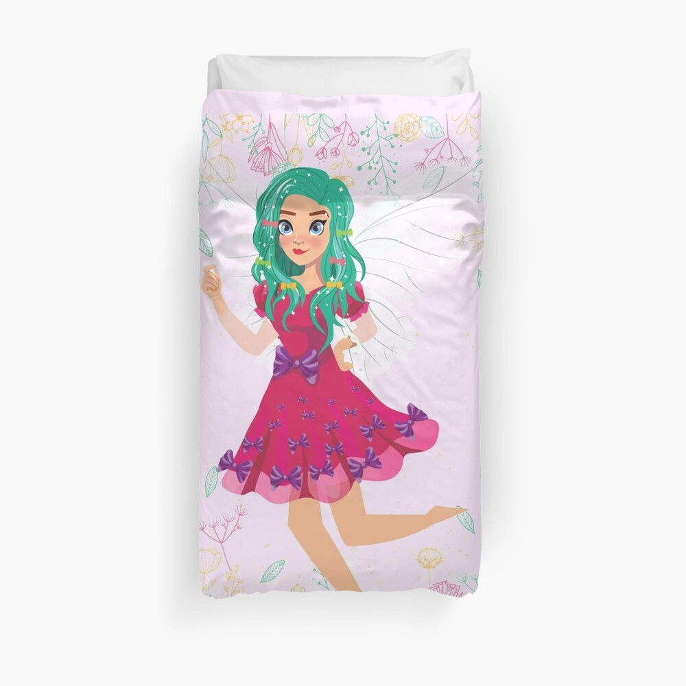 Ruby The Ribbon Fairy At Play™ Duvet Cover