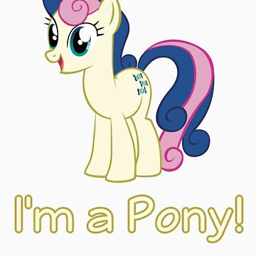 BonBon is a pony by Ryolo