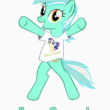 Lyra is a Brony! by Ryolo