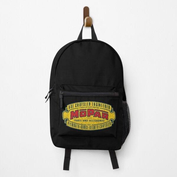 Vintage Mopar decal Backpack