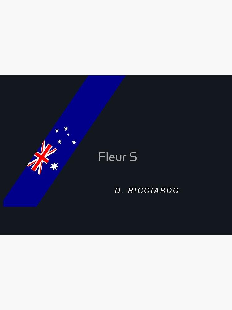 «Drapeau australien Daniel Ricciardo» par fleurtje484