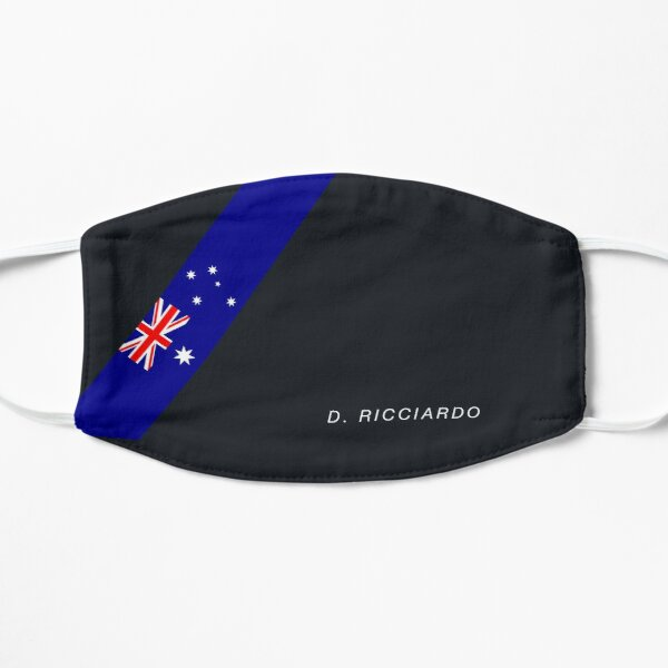 Drapeau australien Daniel Ricciardo Masque sans plis