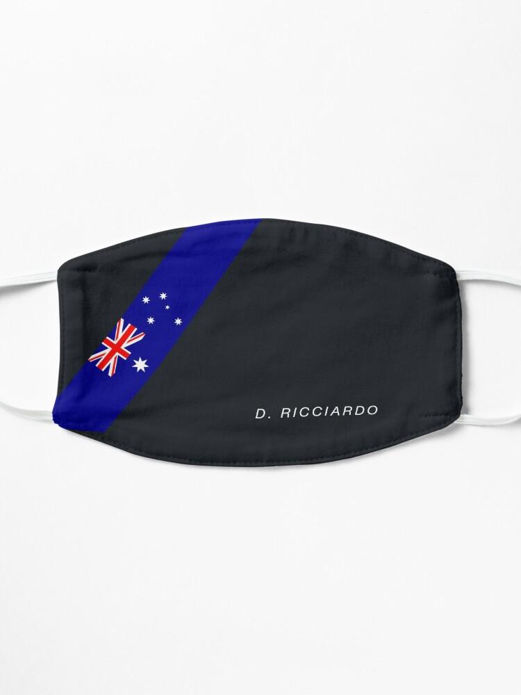 Masque ''Drapeau australien Daniel Ricciardo': autre vue