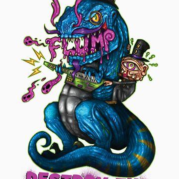 FLUMP - DESTROY THE MAINSTREAM by FLUMPcomic