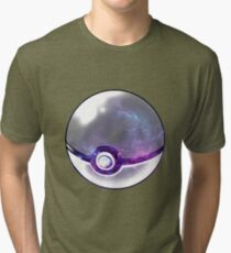 Galaxy Pokeball. Tri-blend T-Shirt