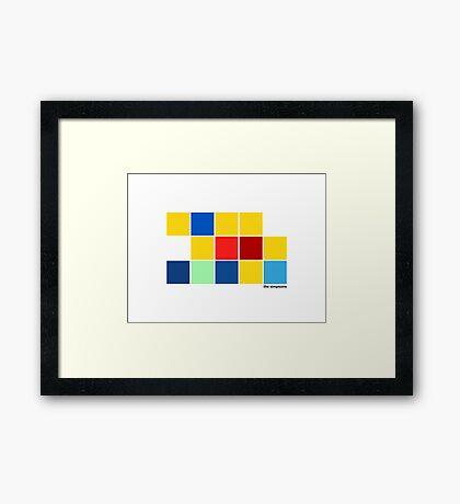 pbbyc - The Simpsons Framed Print