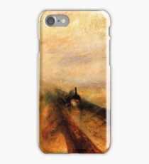 TURNER, Rain, Steam and Speed, GWR, Great Western Railway, Train iPhone Case/Skin