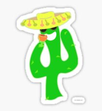 Party On Party Cactus Sticker