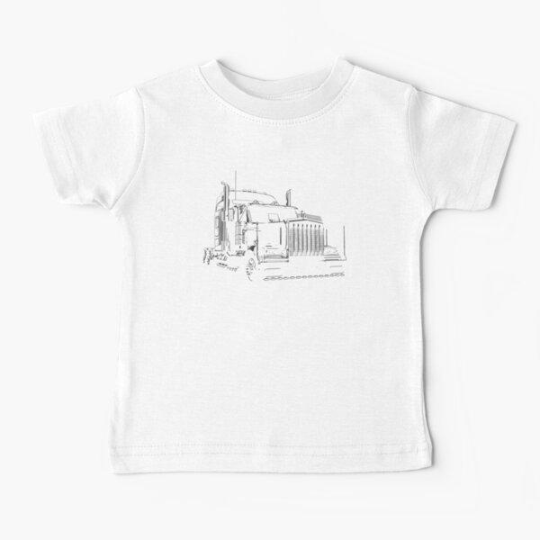 Super Semi-Camion T-shirt bébé