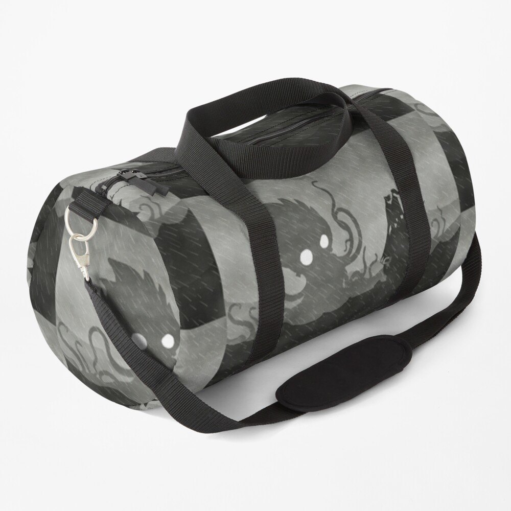 Rainy Ship & Kraken Duffle Bag
