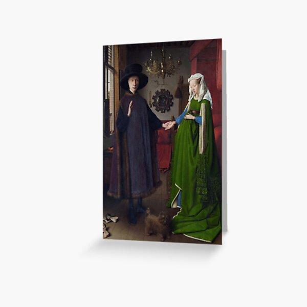 Van Eyck Arnolfini Greeting Card