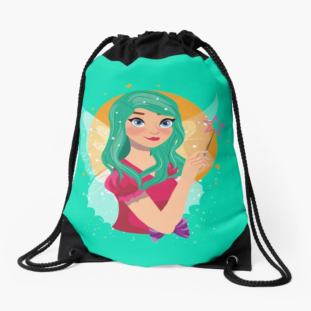 Ruby The Ribbon Fairy™ Drawstring Bag