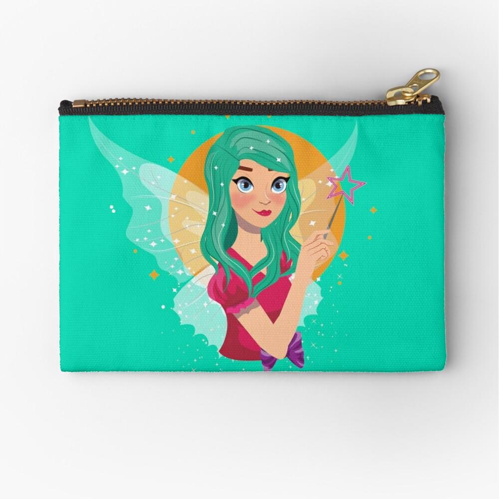 Ruby The Ribbon Fairy™ Zipper Pouch