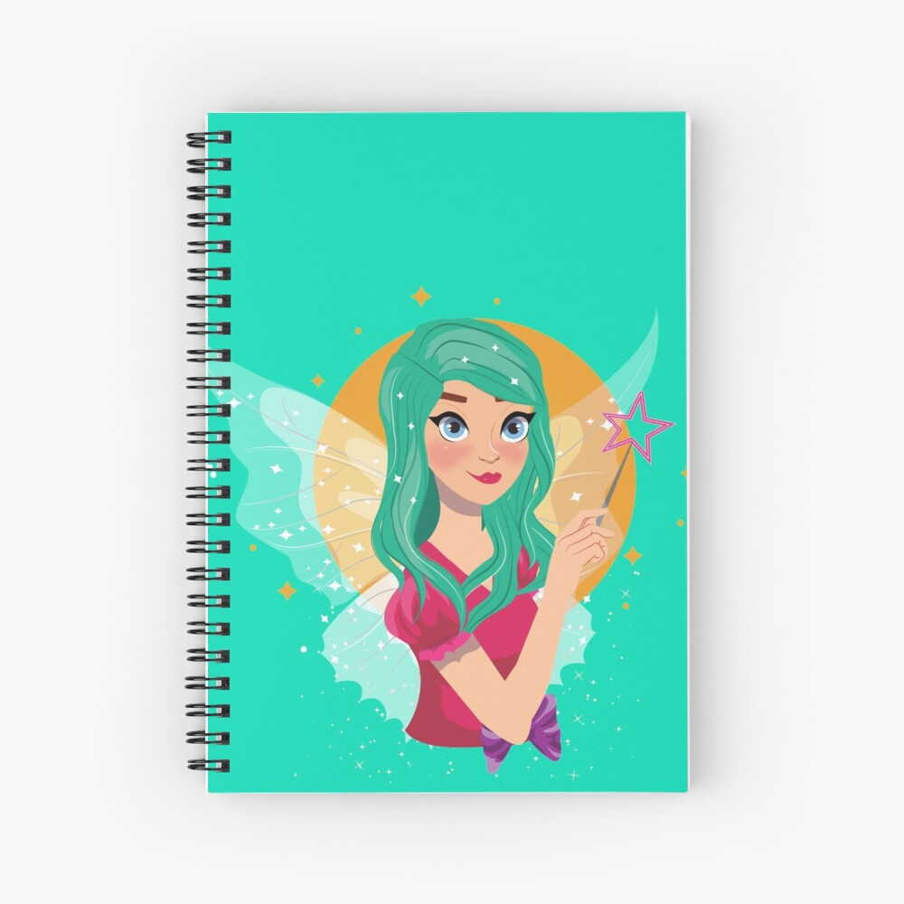 Ruby The Ribbon Fairy™ Spiral Notebook