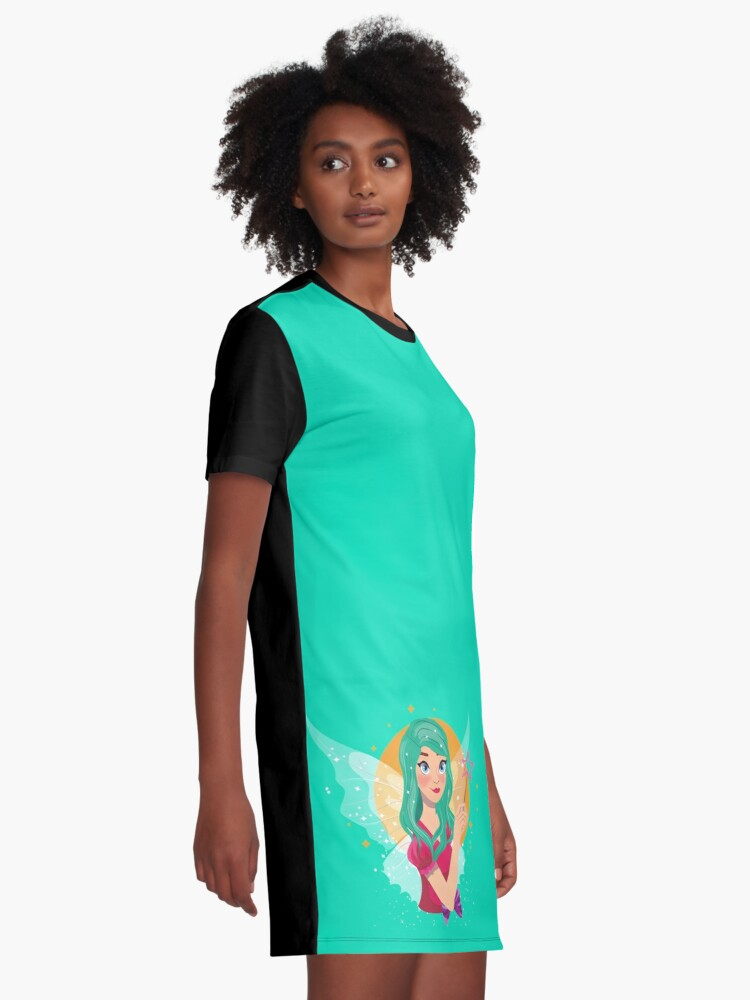 Alternate view of Ruby The Ribbon Fairy™ Graphic T-Shirt Dress