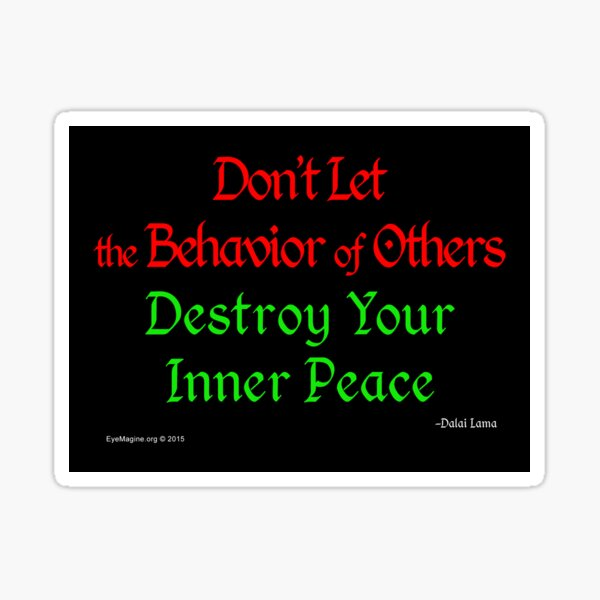 Inner Peace Sticker