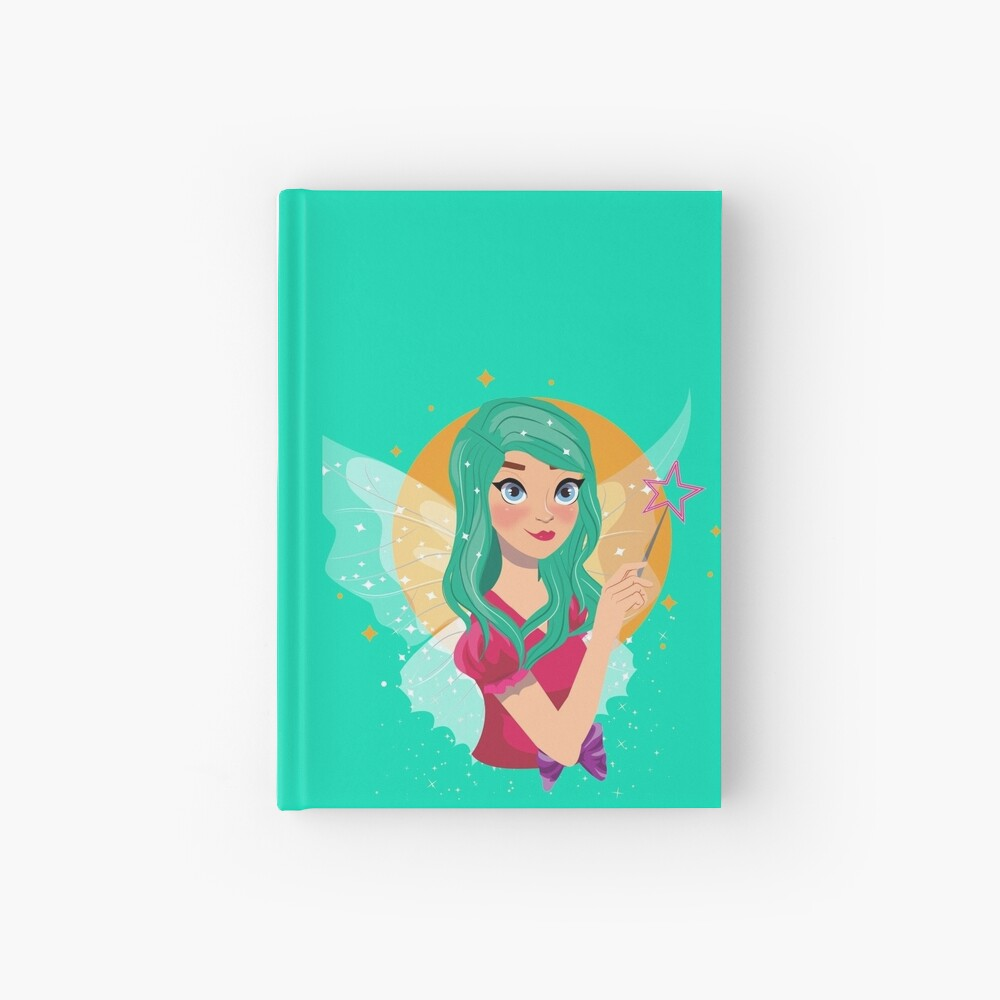 Ruby The Ribbon Fairy™ Hardcover Journal