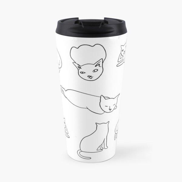 Unimpressed cats collection Travel Mug