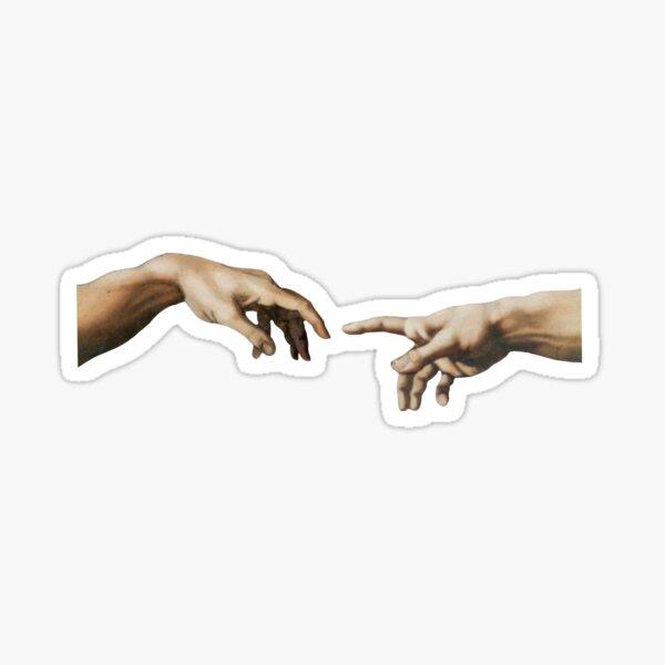 Michelangelo's The Creation of Adam Sticker