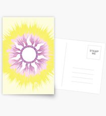 A Tangled Sunburst Postcards