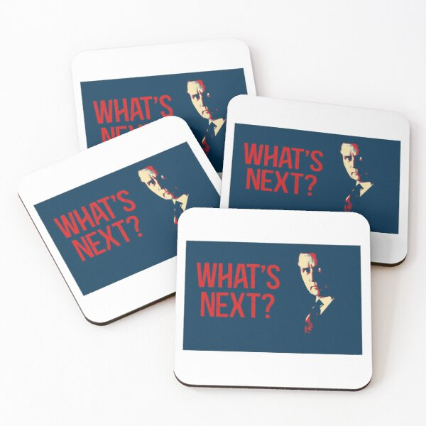 What's Next West Wing Coasters (Set of 4)