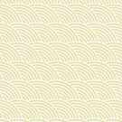 Beige Fish Scale Pattern by rusanovska