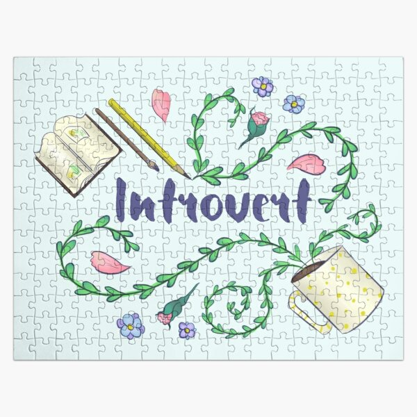 Introvert Jigsaw Puzzle