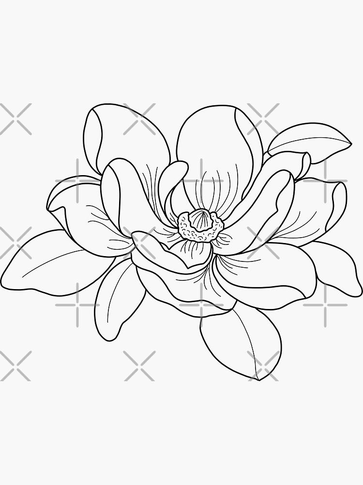 magnolia by CarliCreates