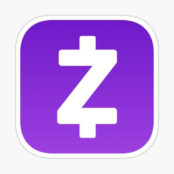 Zelle App Logo Skicker Sticker