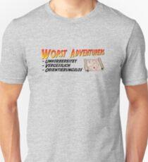 WORST ADVENTURERS - Slogan (deutsch) Unisex T-Shirt