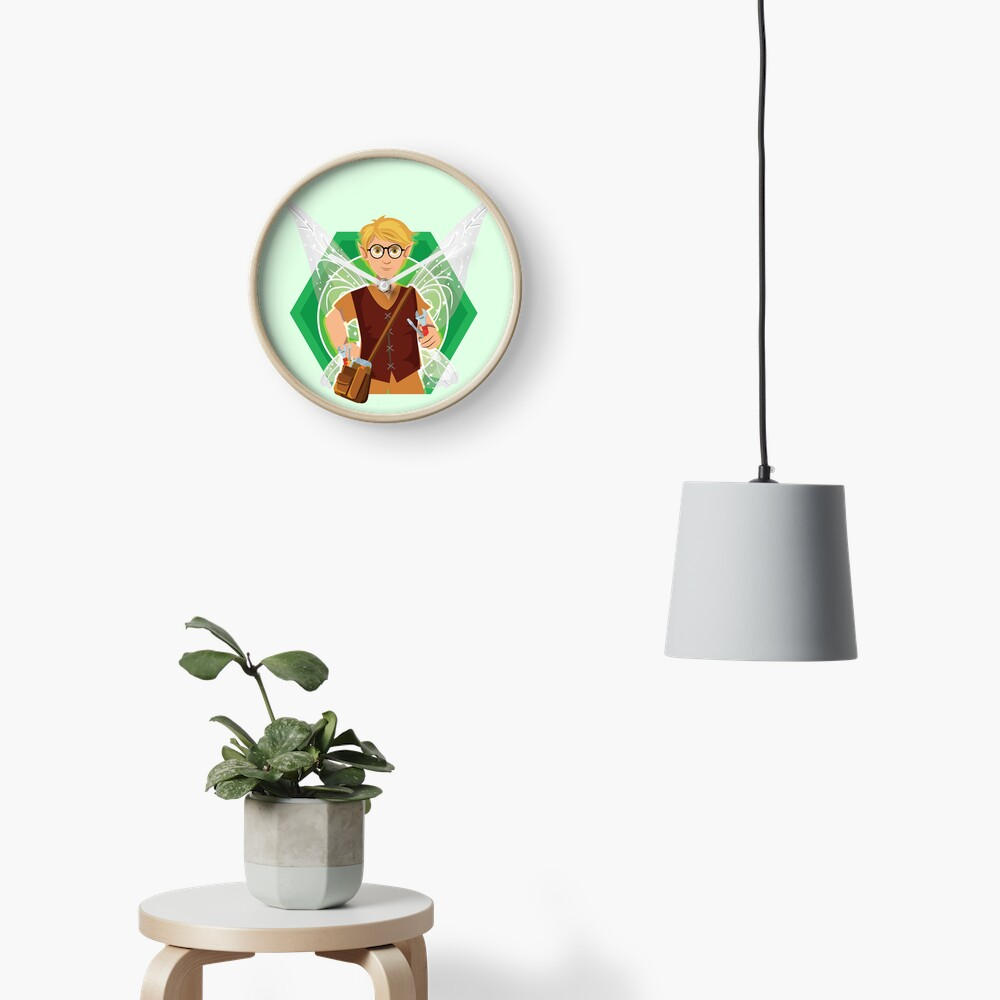 Tommy Tinker-The Tinker Fairy™ Clock