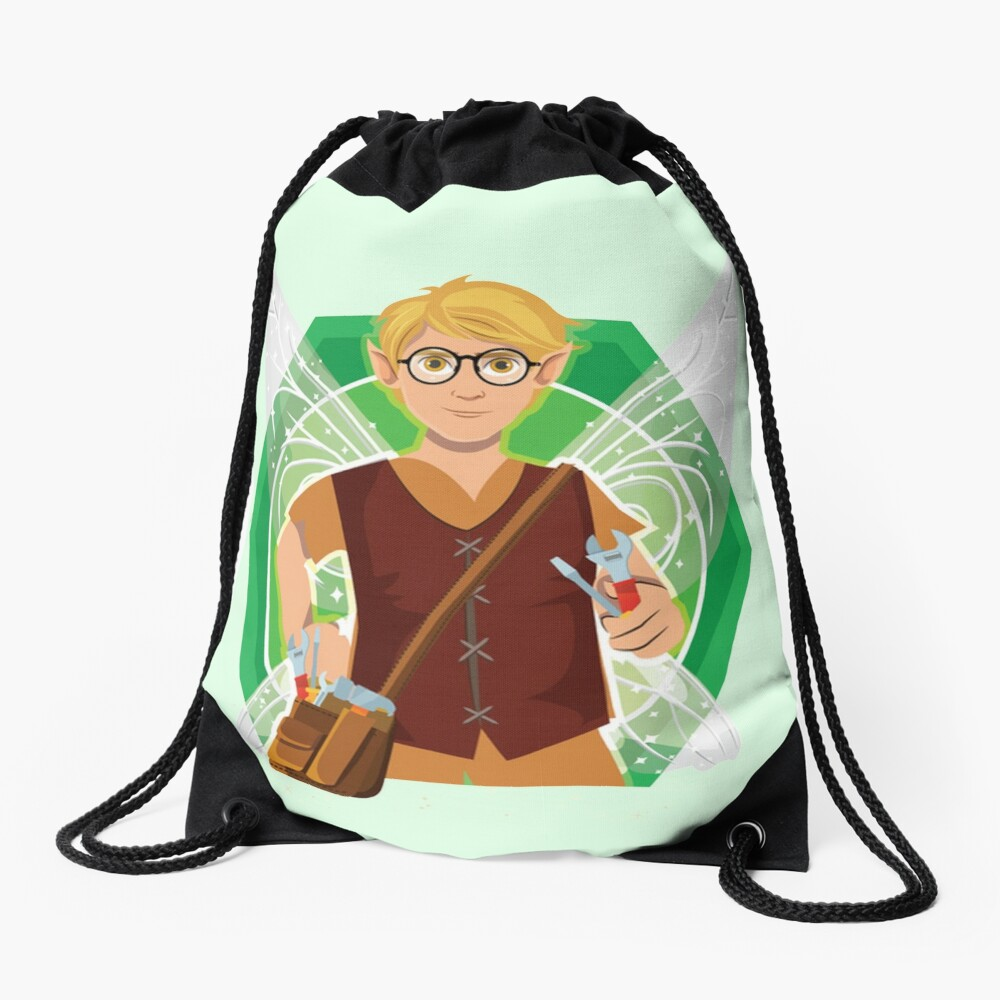 Tommy Tinker-The Tinker Fairy™ Drawstring Bag