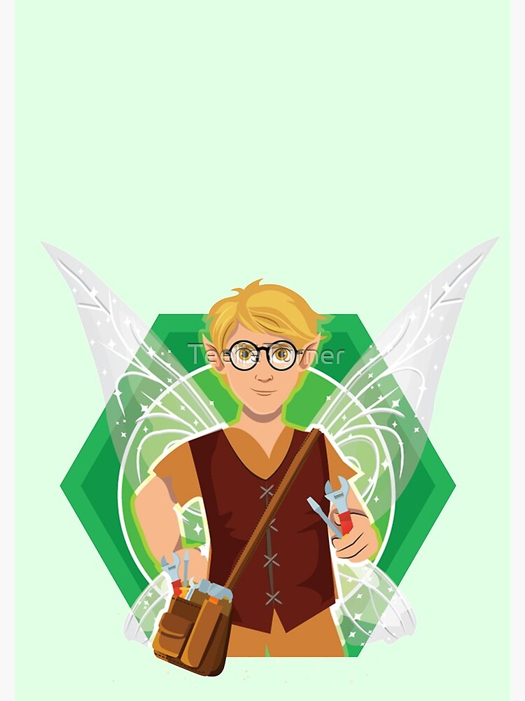 Tommy Tinker-The Tinker Fairy™ by TeelieTurner