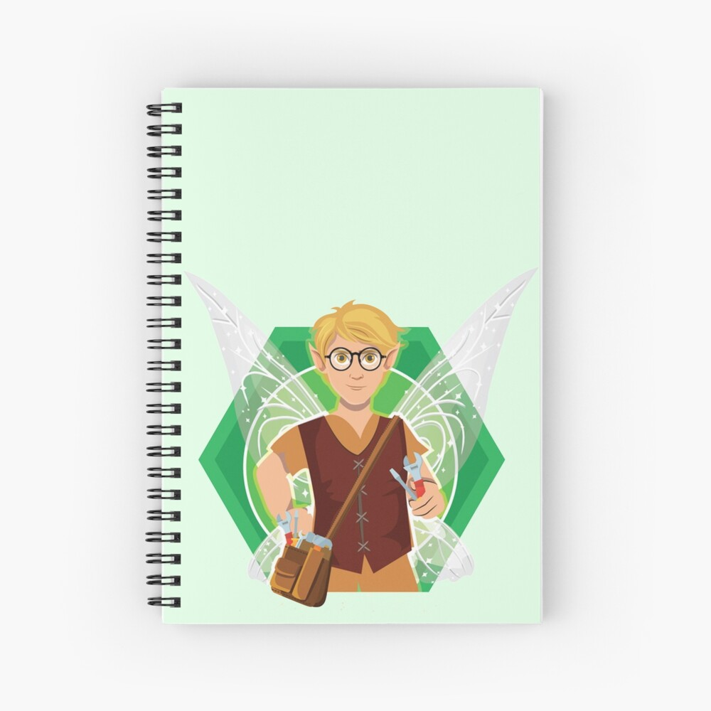 Tommy Tinker-The Tinker Fairy™ Spiral Notebook