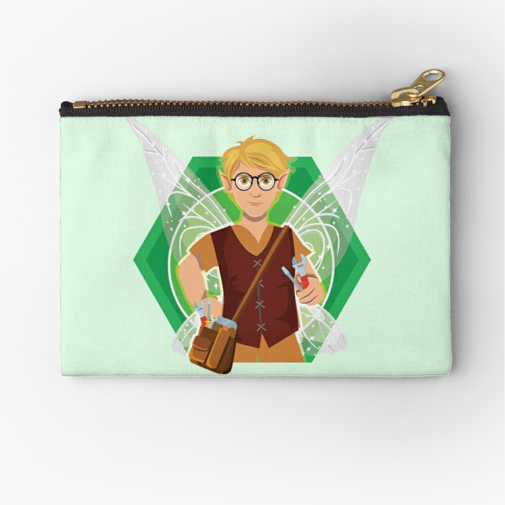 Tommy Tinker-The Tinker Fairy™ Zipper Pouch