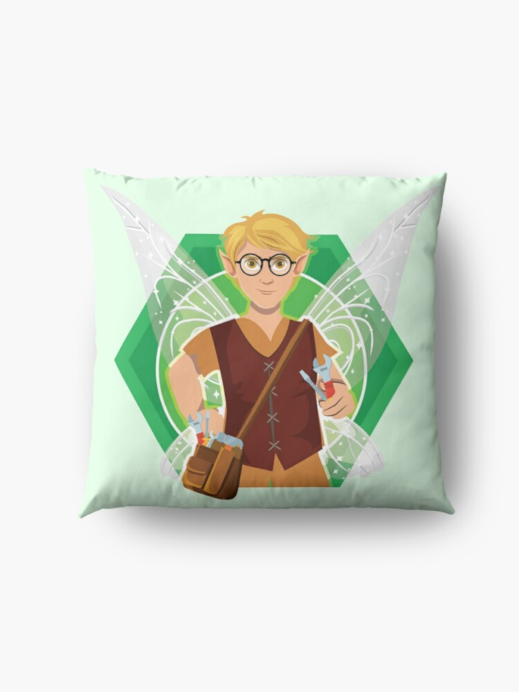 Alternate view of Tommy Tinker-The Tinker Fairy™ Floor Pillow