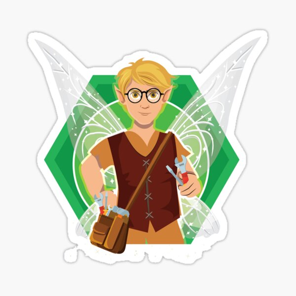 Tommy Tinker-The Tinker Fairy™ Sticker