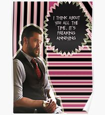 Frank Delfino [I think about you all the time] Poster